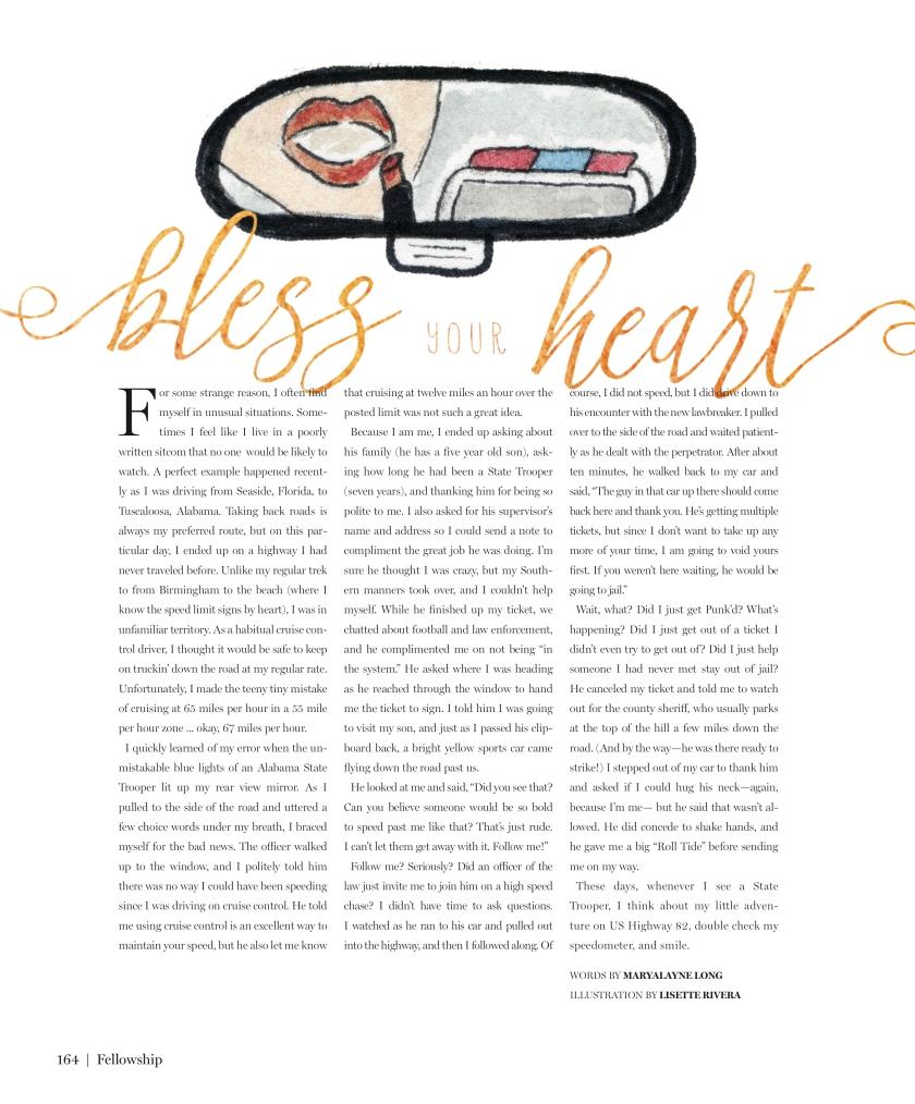 Bless Your Heart Speeding.jpg
